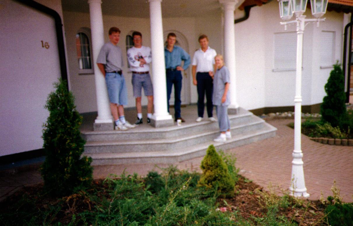 Left to Right: Jim, Matt, Scott, Euan