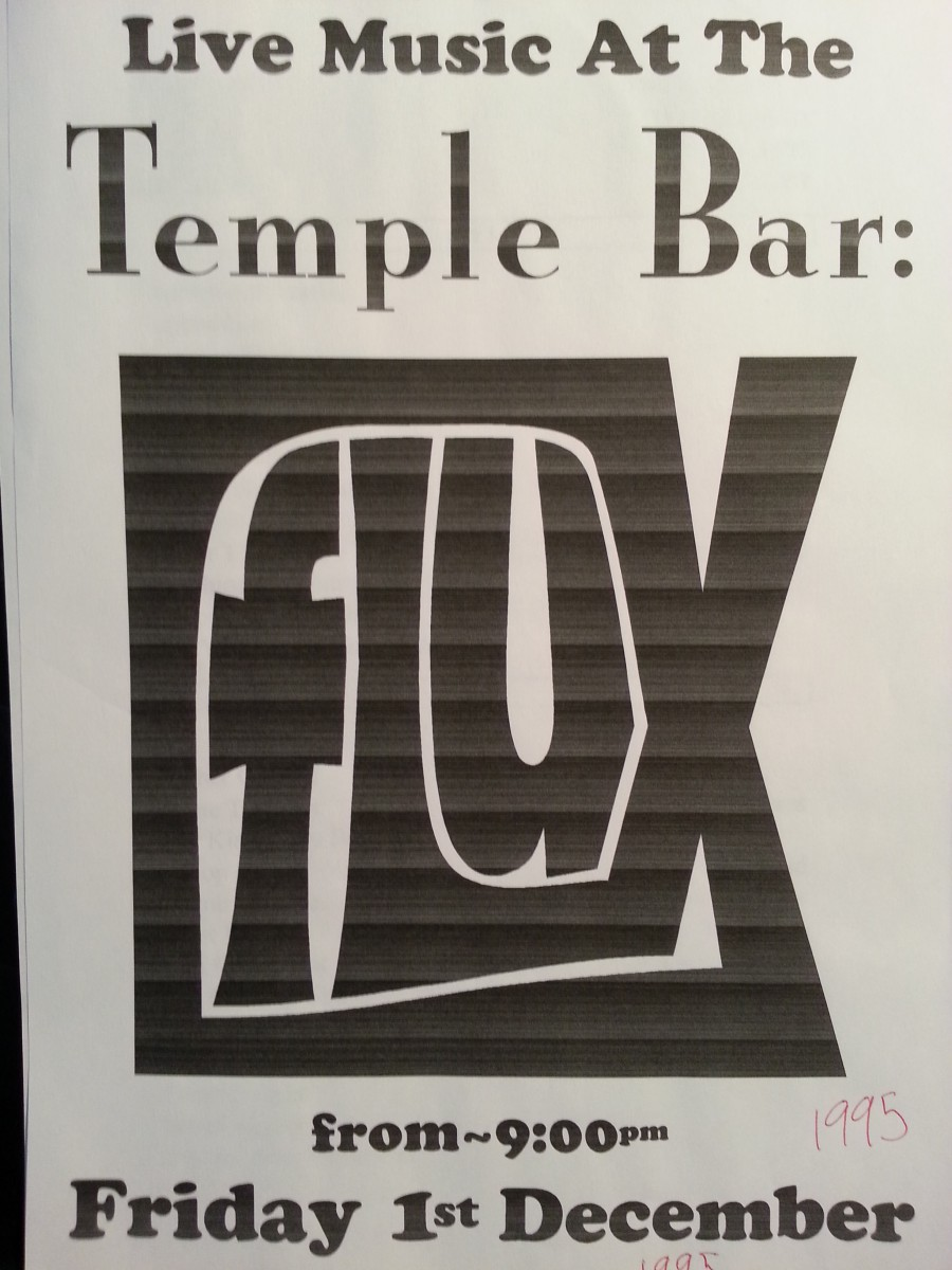 Temple Bar poster - FLUX - 1995