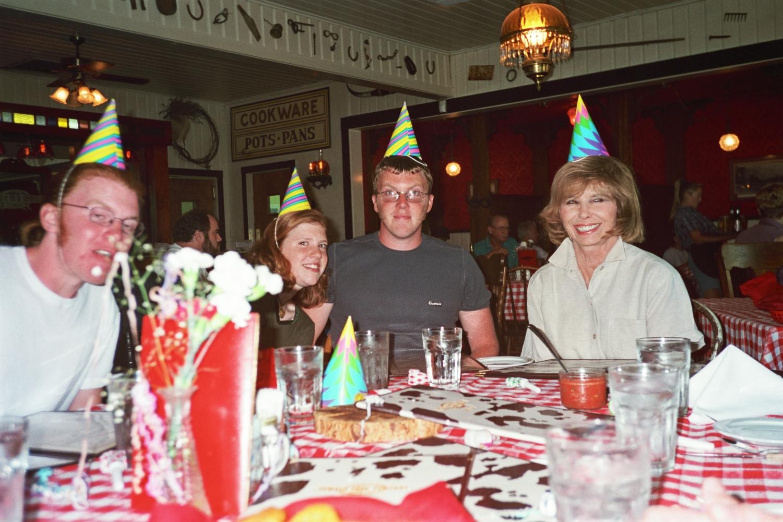 Birthday party in Oregon