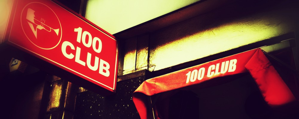 The 100 Club. Oxford Street, London W1