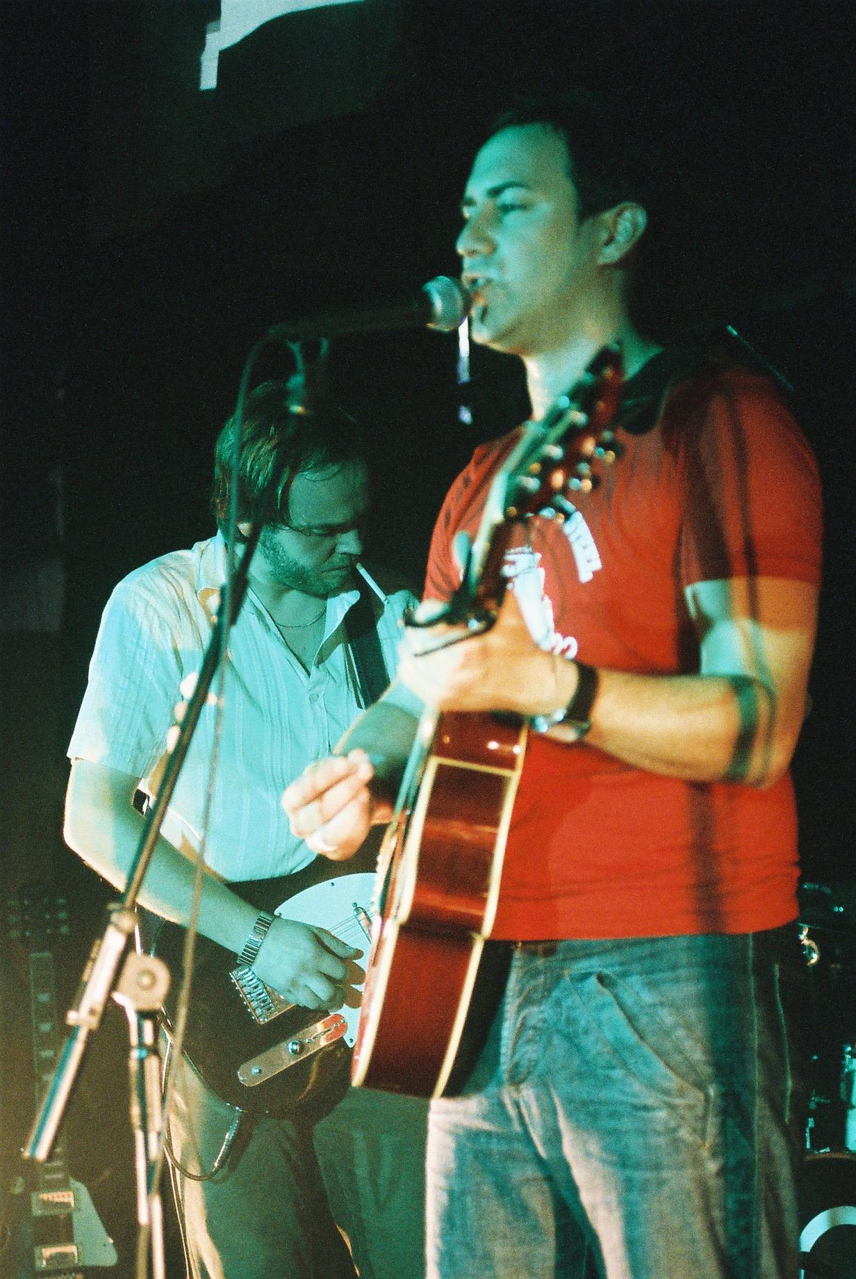 Tarkan Algin & Dean Gardner - The Dees - Showcase - Union Chapel 2004, Islington