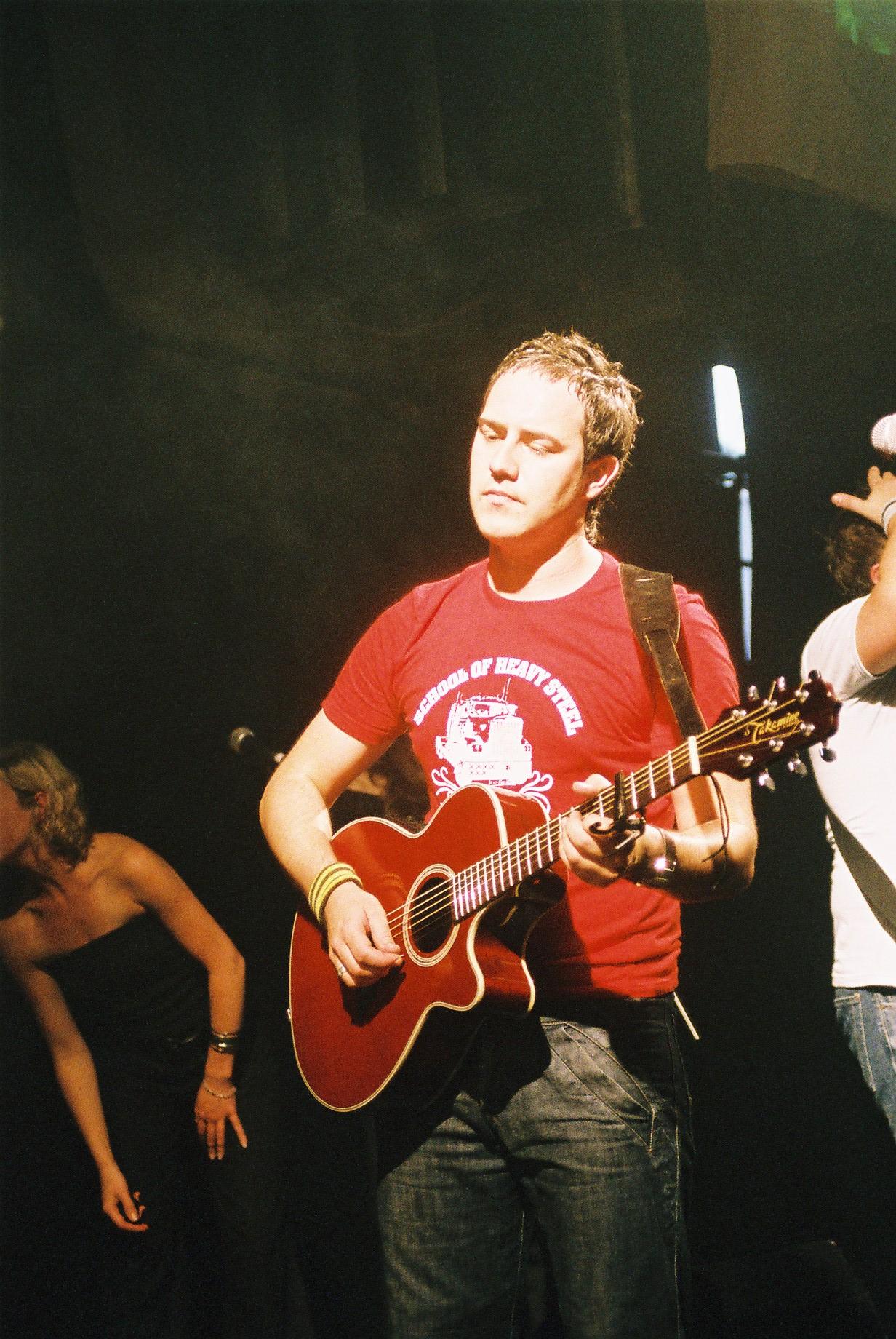Dean Gardner - The Dees - Showcase - Union Chapel 2004, Islington