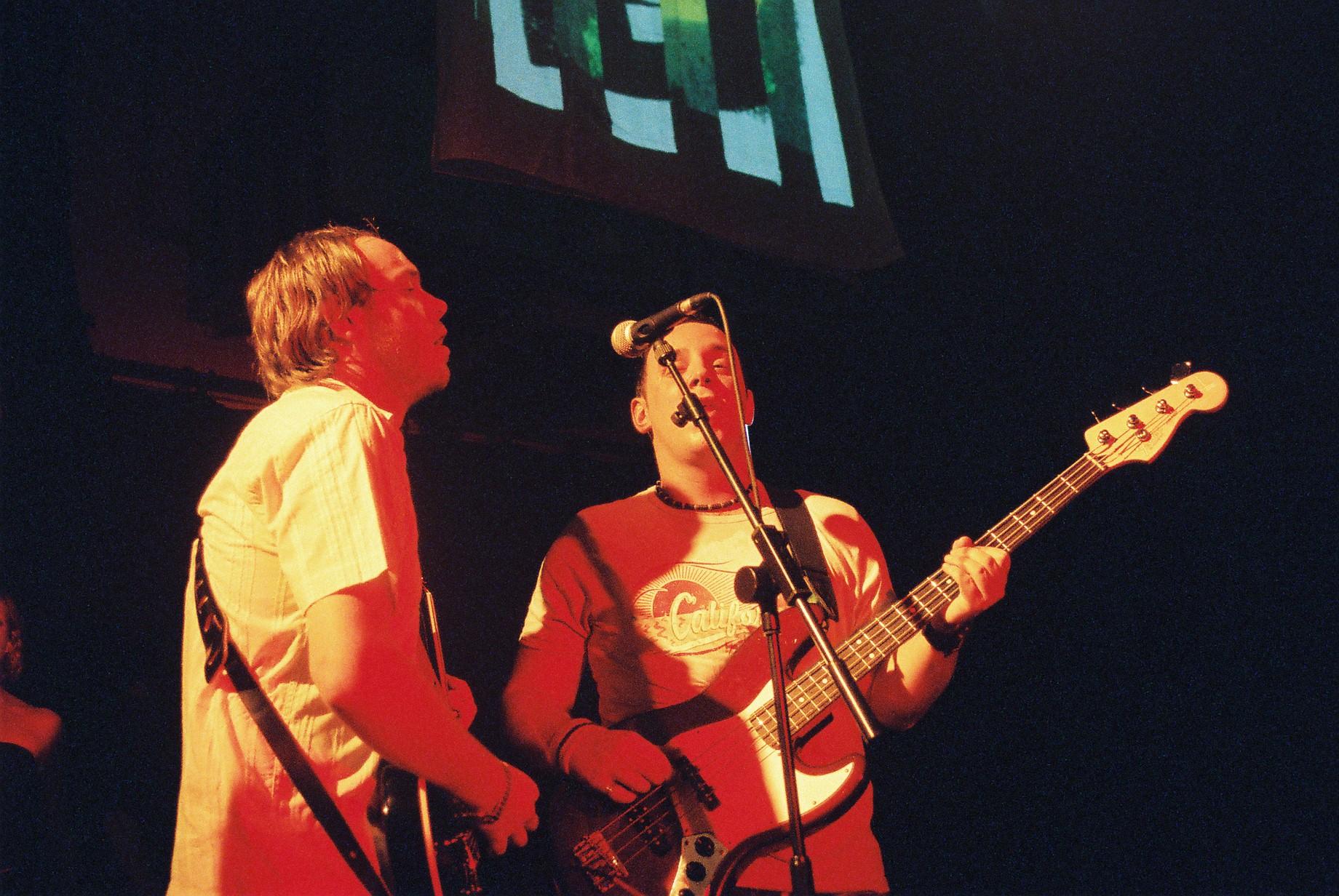 Tarkan Algin & Dan McCabe - The Dees - Showcase - Union Chapel 2004, Islington