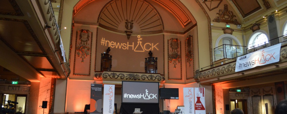 BBC #newsHACK 2013 demos and prize winners