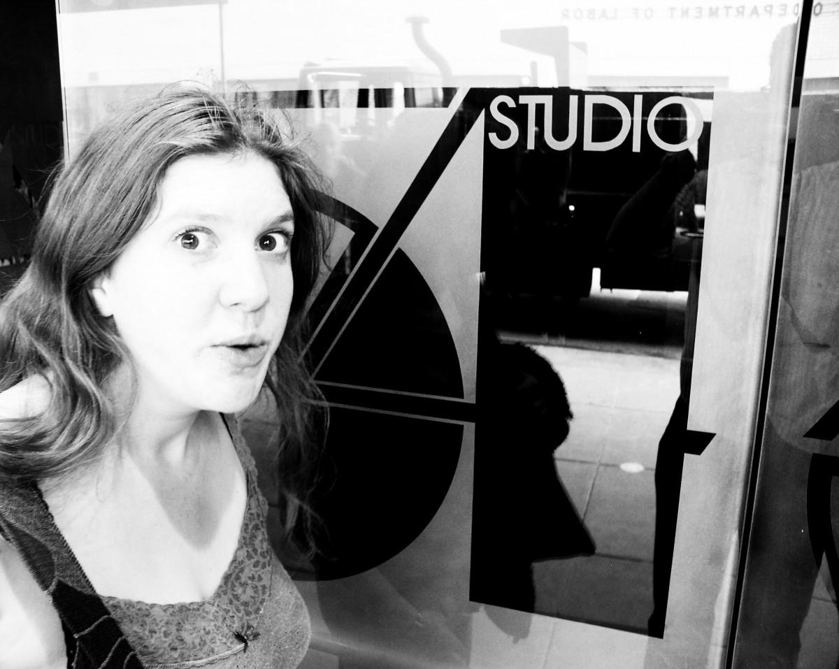 Ginny at Studio 54, New York