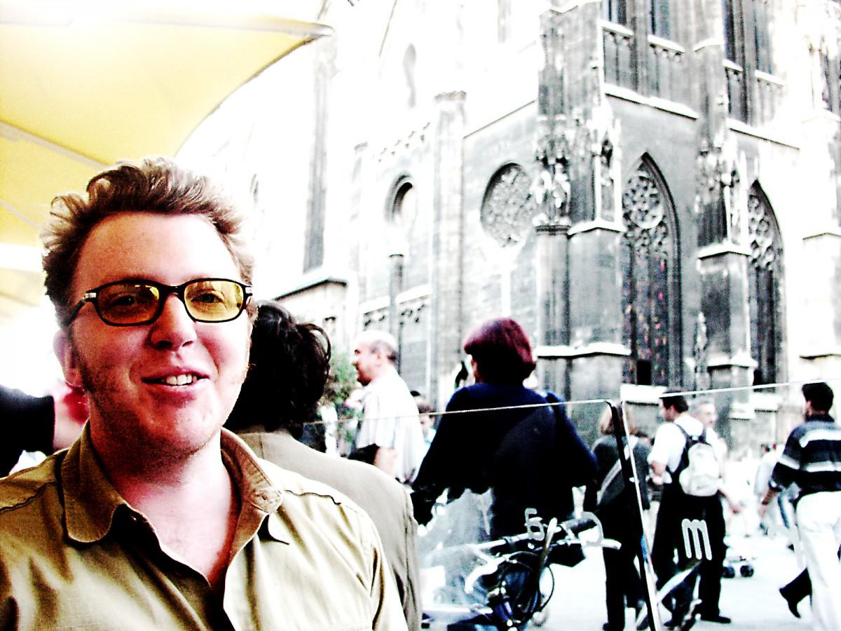 Matt Shearer in Vienna