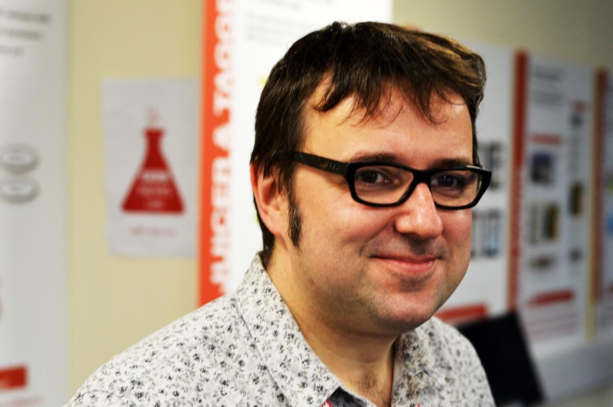 Jeremy Tarling at BBC Caversham