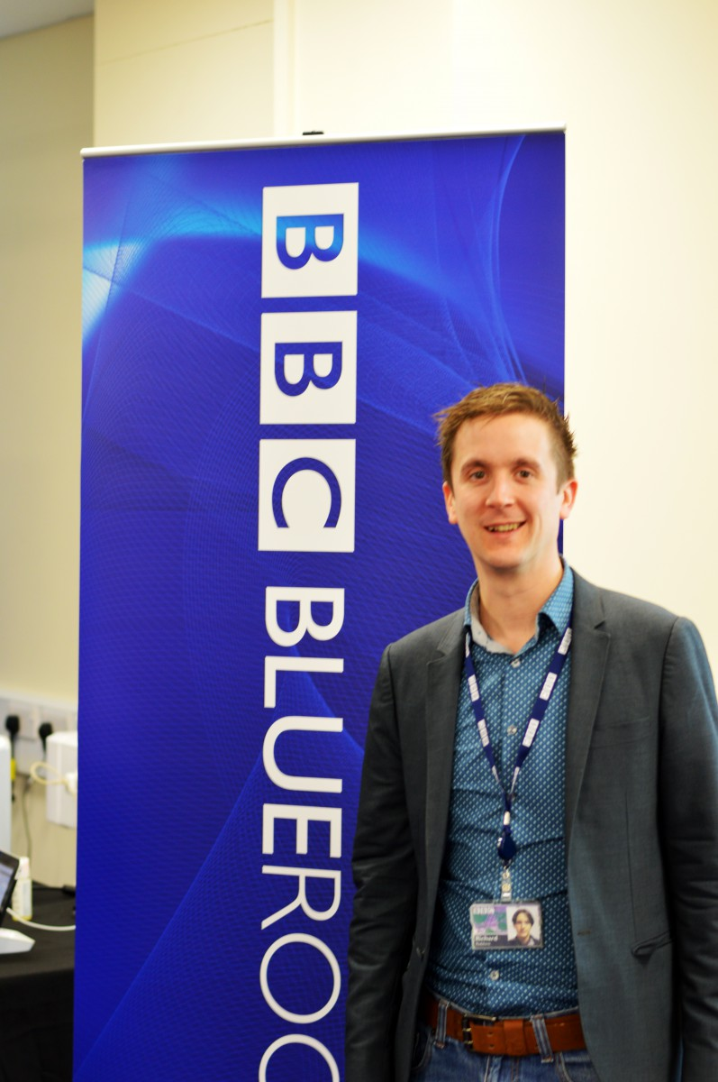 Richard from the Blueroom at BBC Caversham