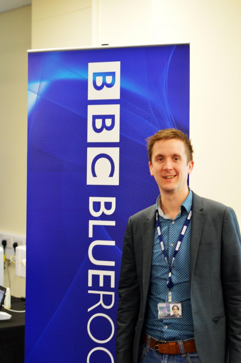 Richard from the Blueroom at BBC Caversham