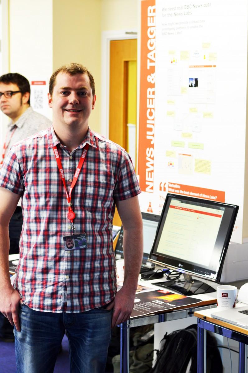 Matt Haynes at BBC Caversham