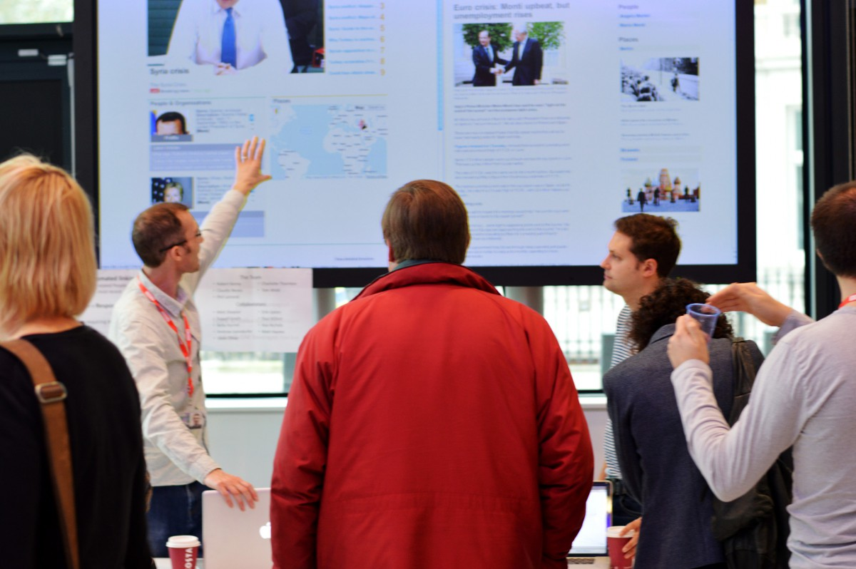 Demonstration of BBC News Labs Events Prototypes