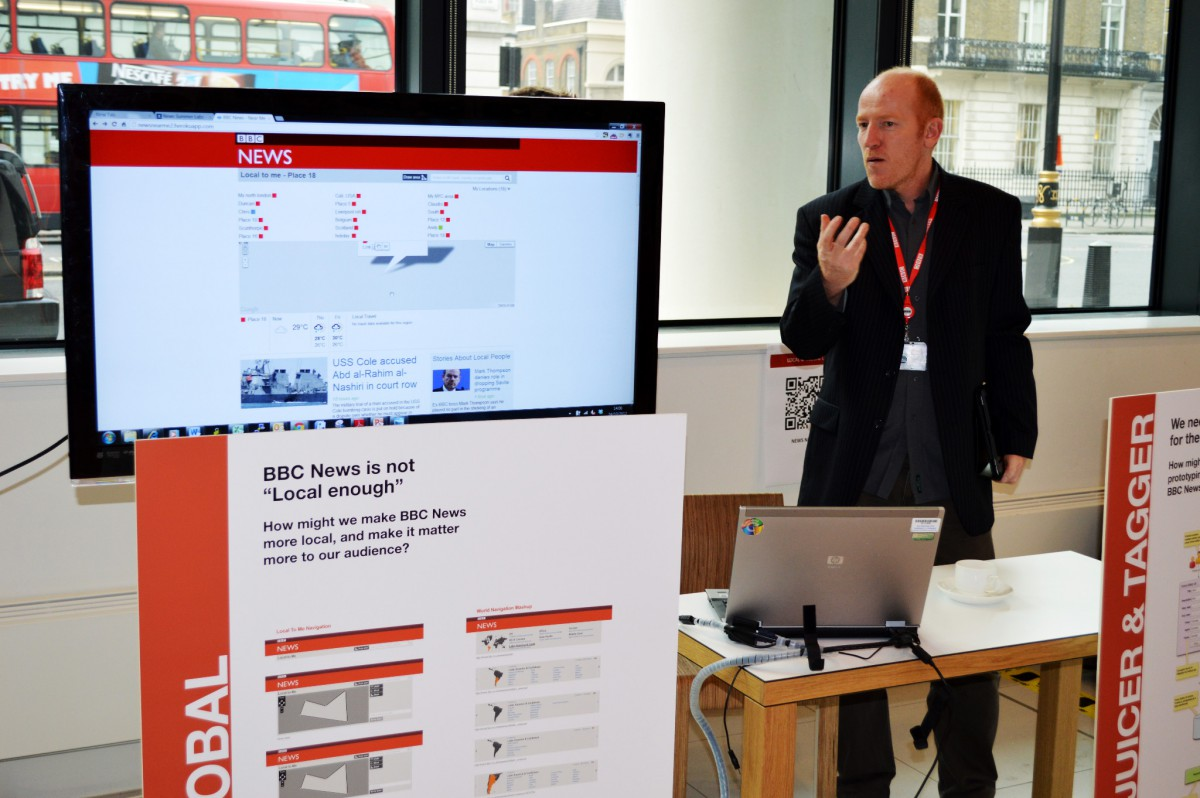 Russell Smith explains the News Labs work