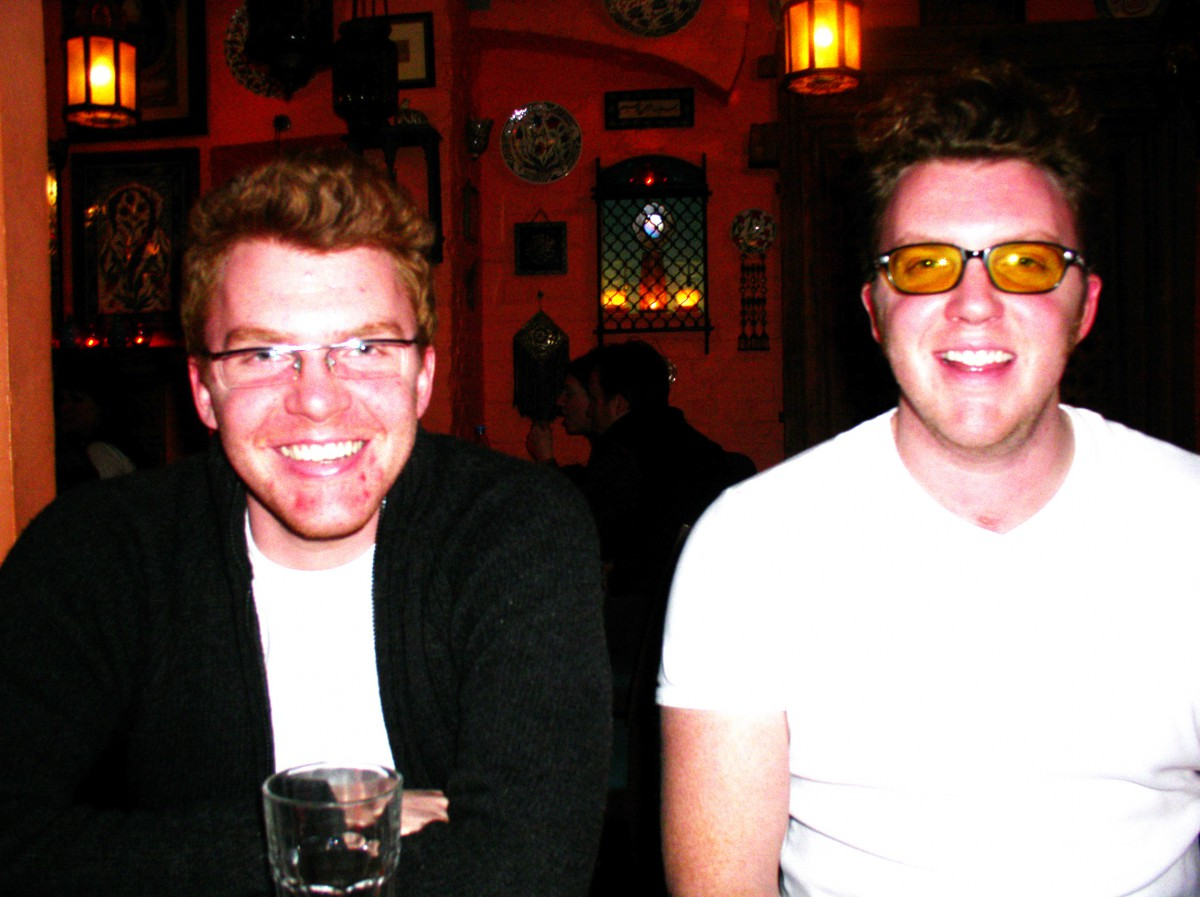 Matt Shearer and Ed Shearer at The 100 Club