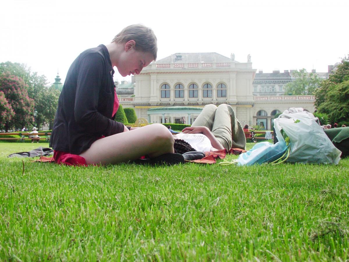 Relaxing in Vienna
