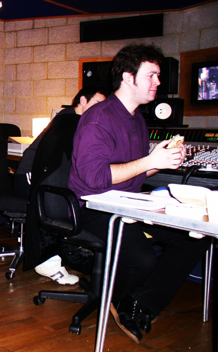 Niall Acott at Angel Studios