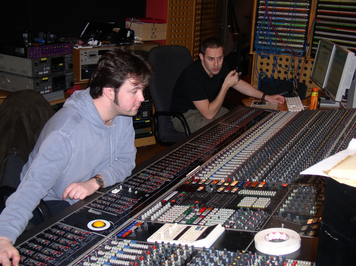 The Dees at Angel Studios.