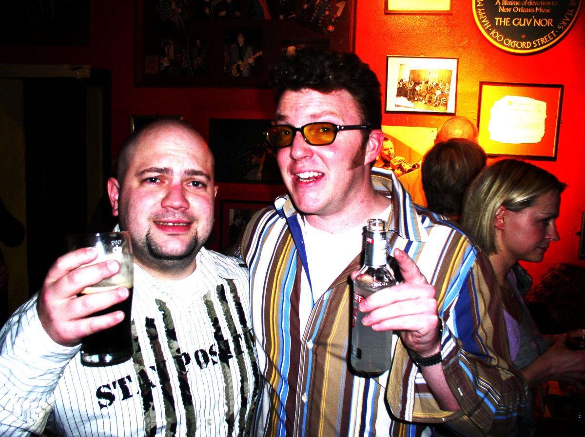 Ian Guest and Matt Shearer at The 100 Club