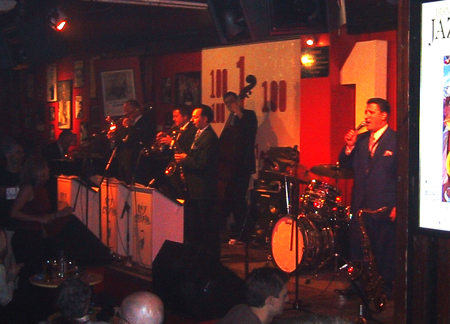 Ray Gellato at The 100 Club
