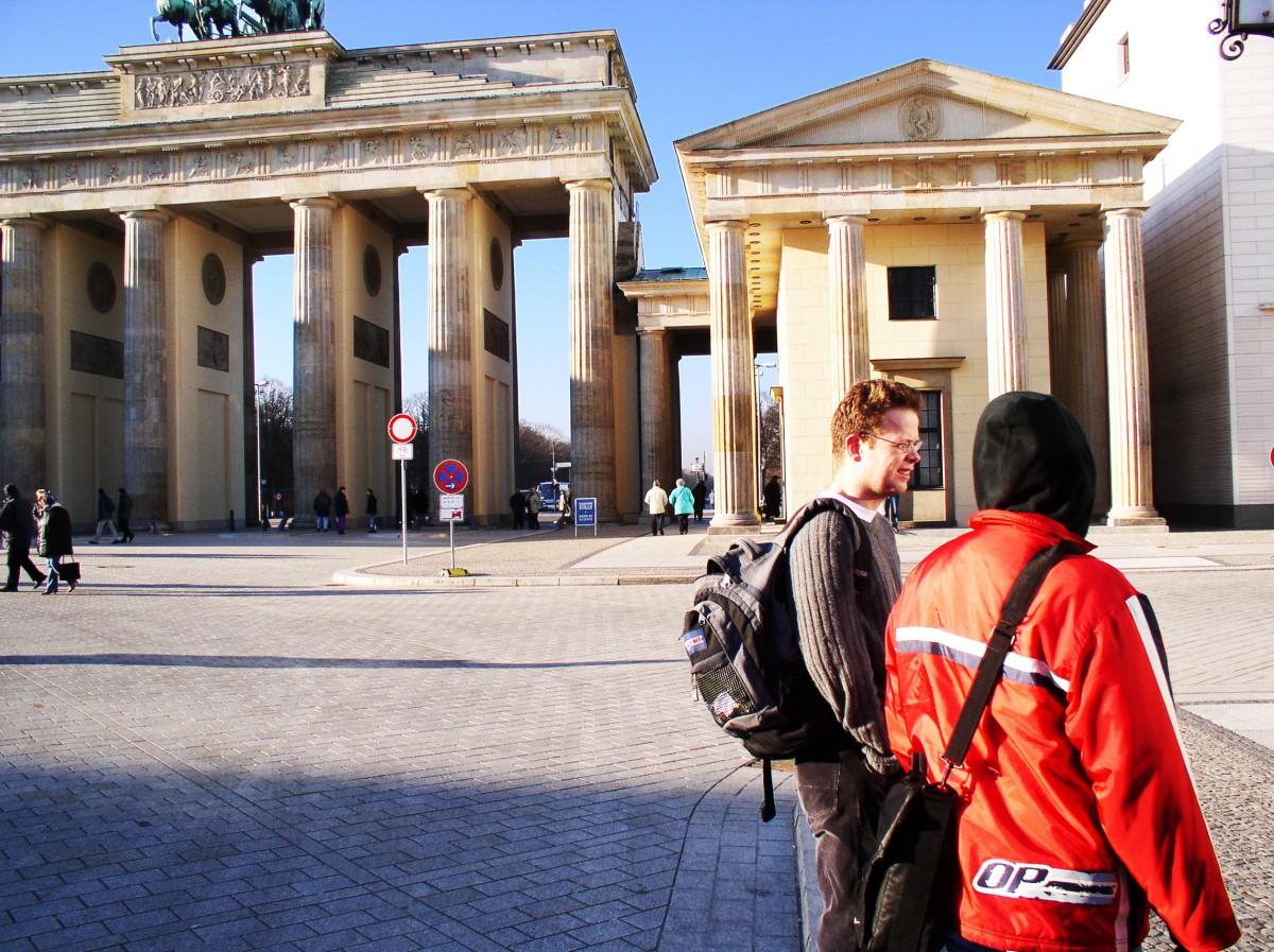 At The Kronenberg Gates in Berlin