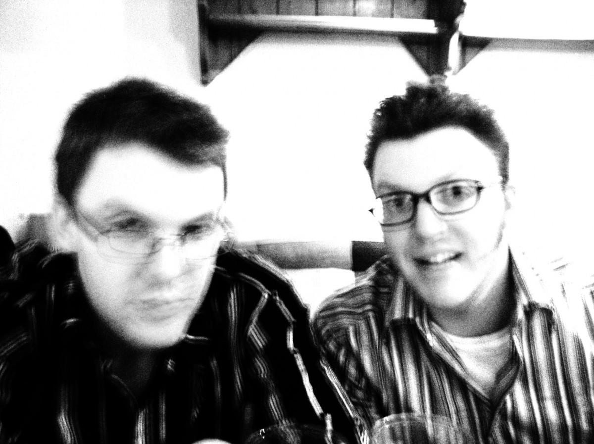 Matt & Ed in Dublin