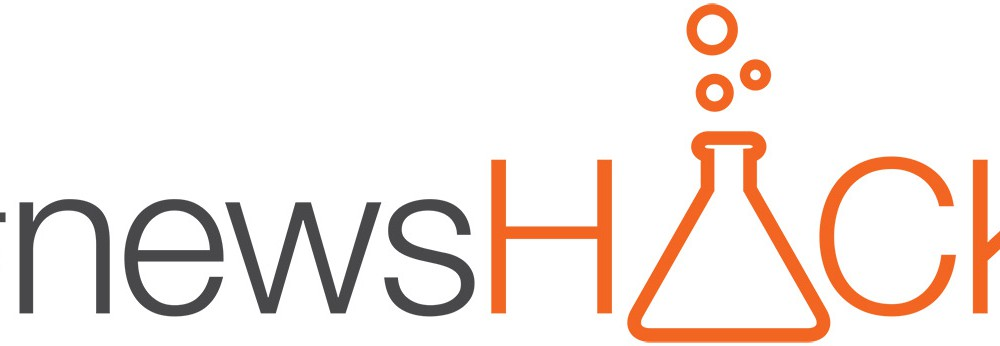#newsHACK Logo