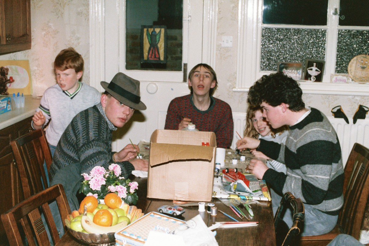 Russ, Alan Beddal, Andrew Hunt, Ed Shearer and Amy Shearer