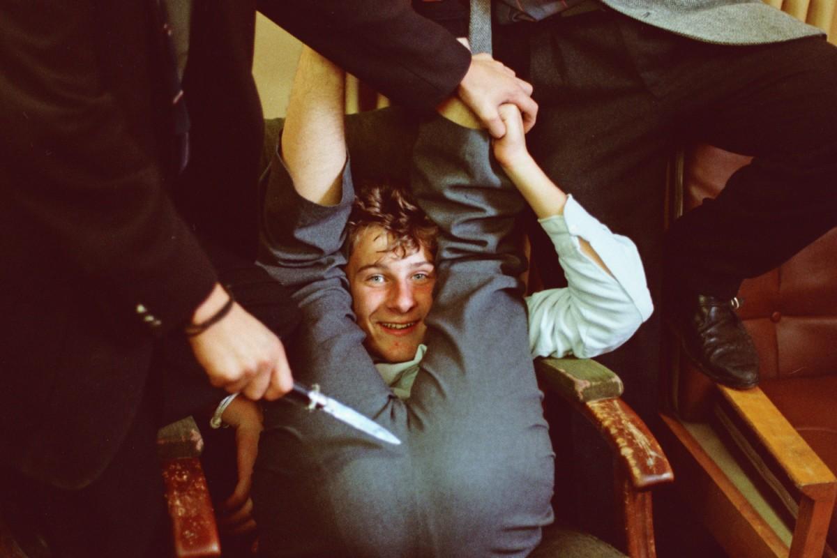 Graham Sievwright under duress
