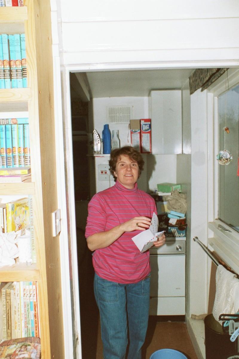 Lori Shearer in the kitchen