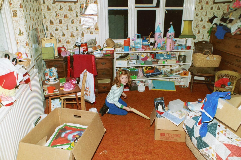 Virginia in her bedroom.