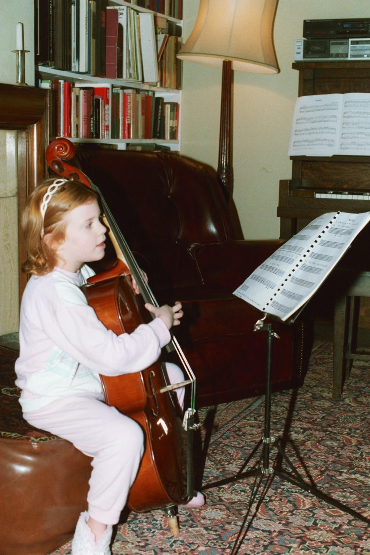 Virginia Shearer plays the Cello