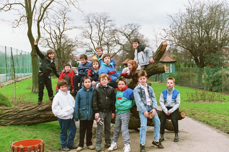 Ed Shearer's posse. A motley crew. Dangerous.