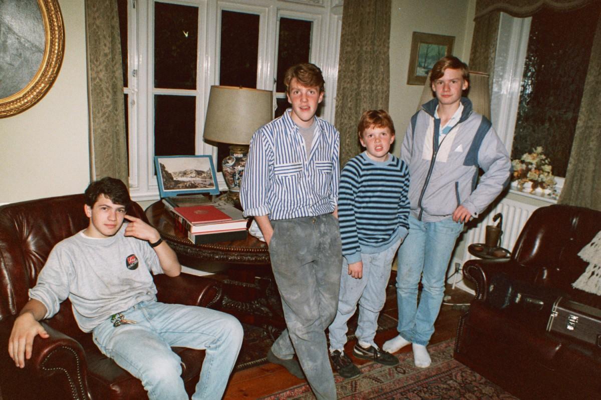 From left: Ian Guest, Matt Shearer, Ed Shearer, James Magnus