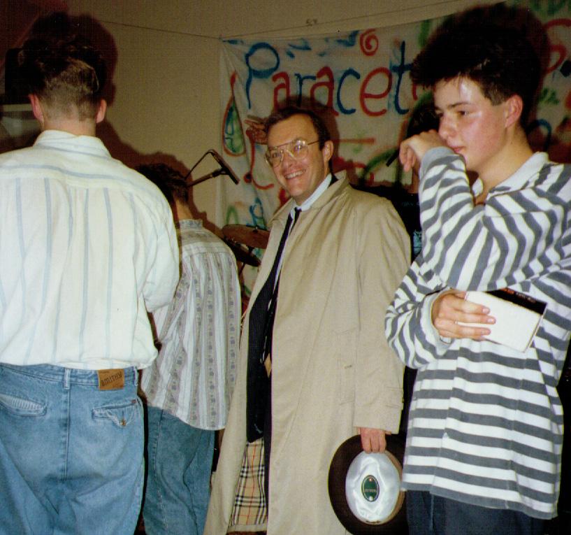Fred Shearer - at the Paracetamols Gig at Felixstowe