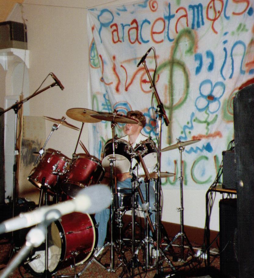 Matt on Drums - Paracetamols LIVE at Felixstowe
