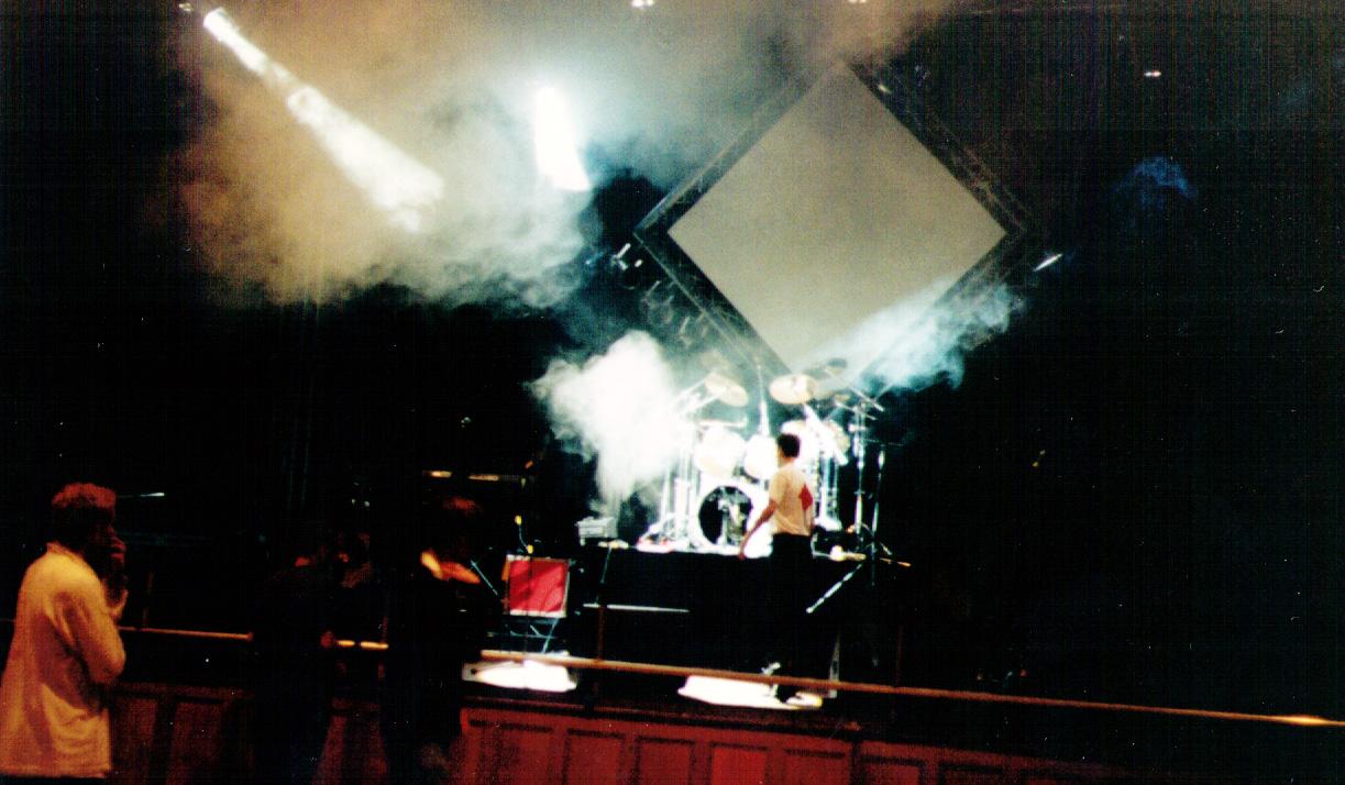 2 Nights Of Rock - RocSoc - Preparing the stage lighting