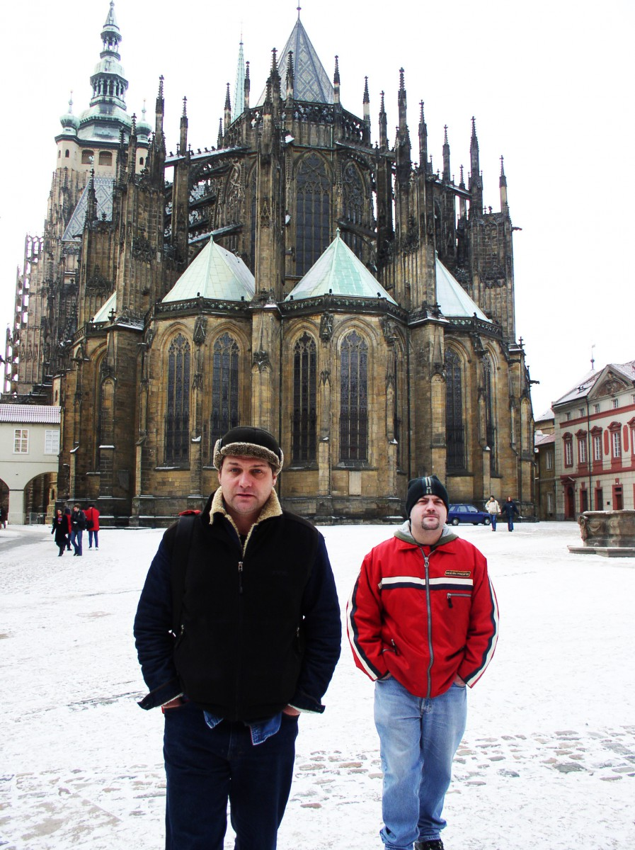 Adam Guy and Ian Guest in Prague