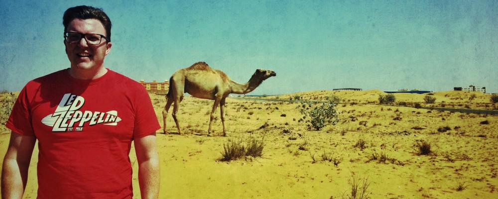 Matt Shearer in Dubai