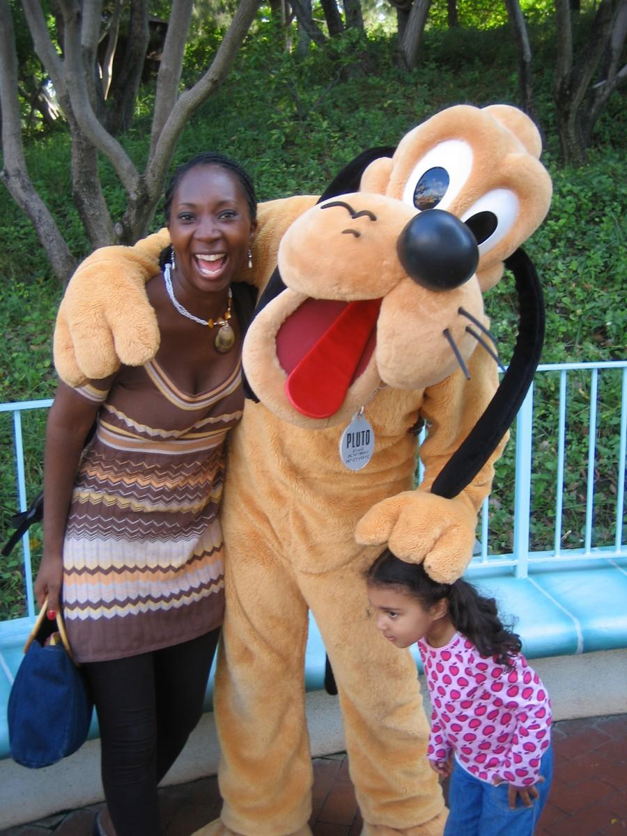 Wendy at Disney
