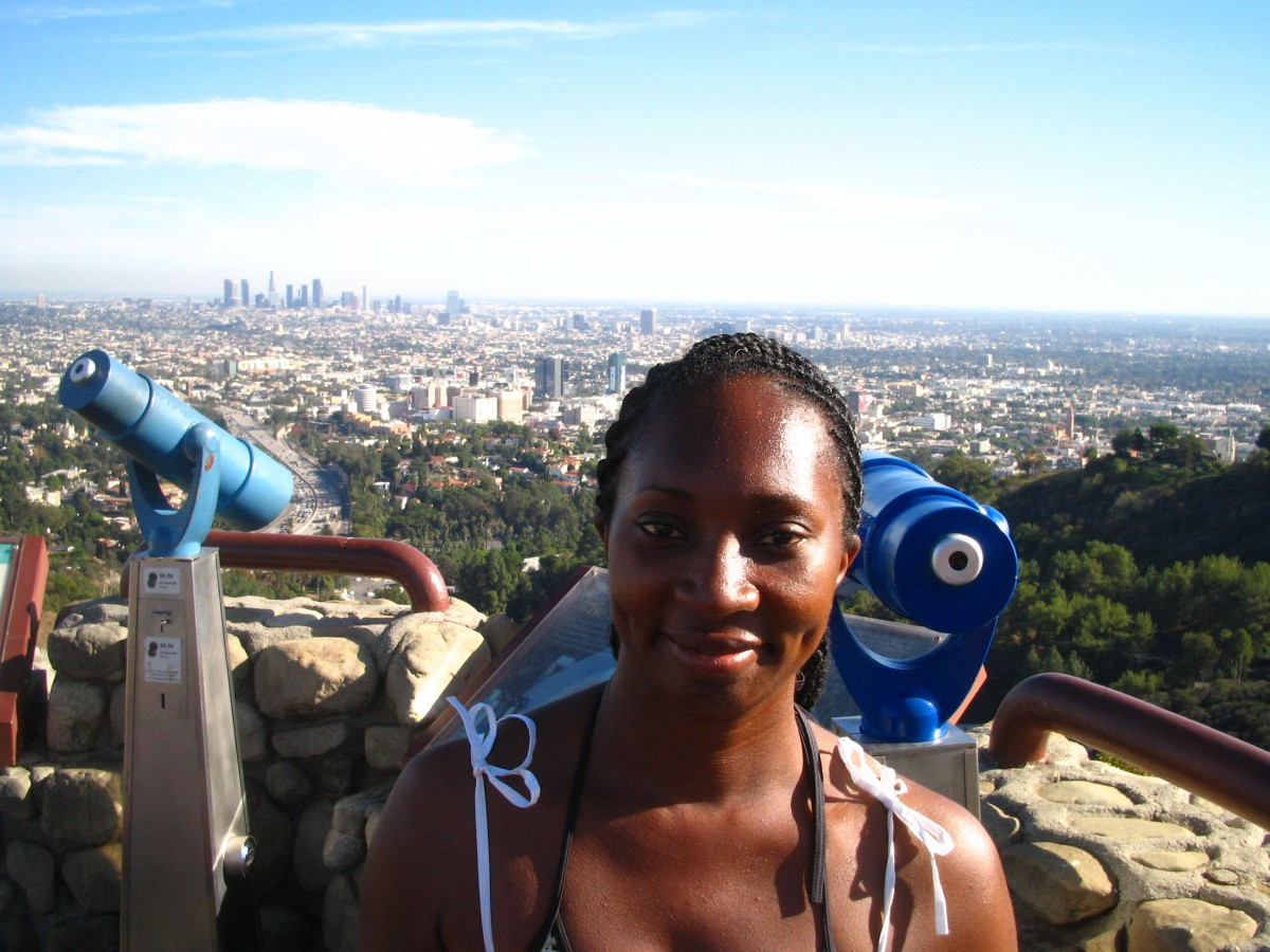 Wendy on Mulholland Drive, Hollywood Hills
