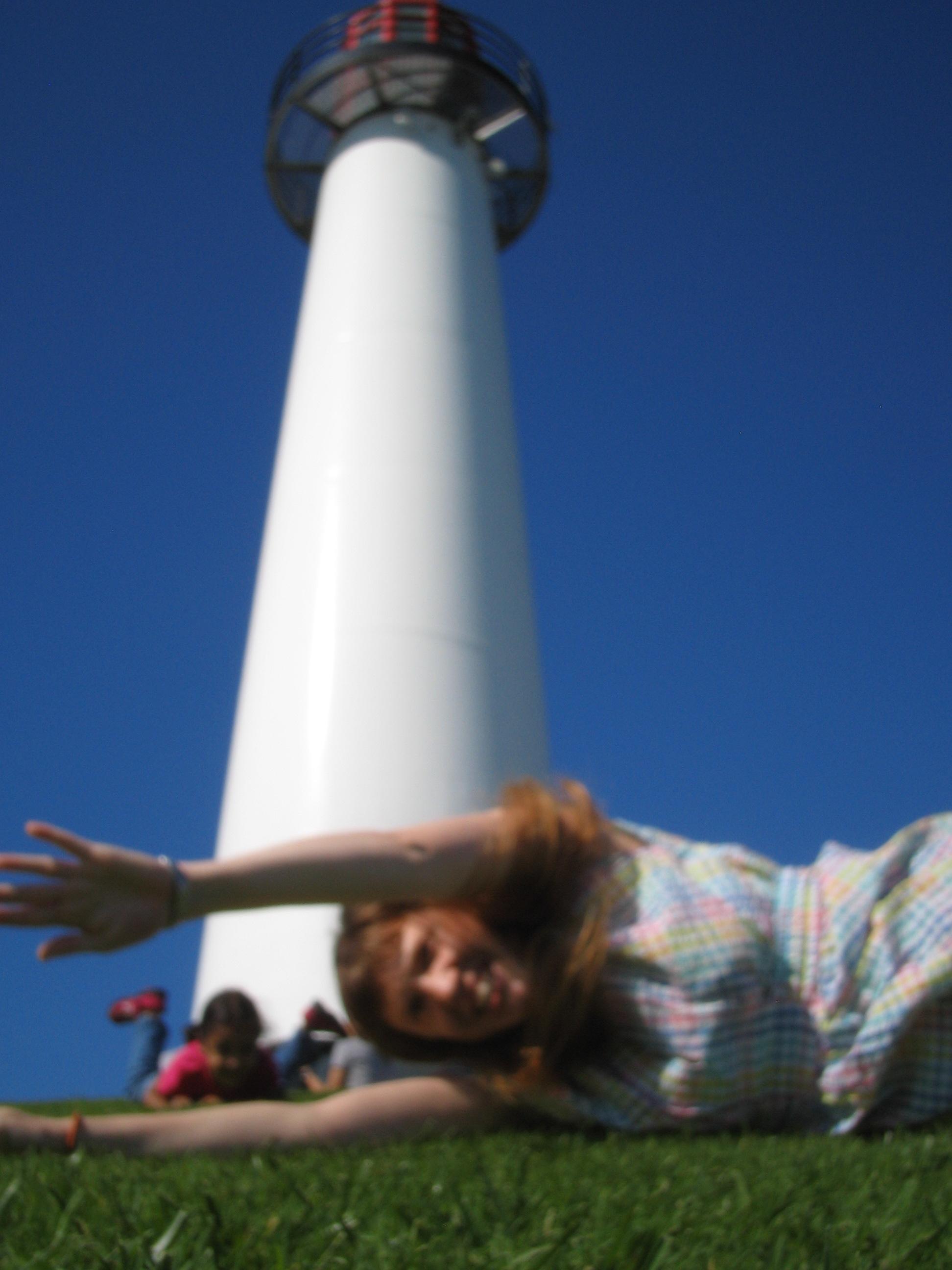 Virginia Shearer - rolls down the hill