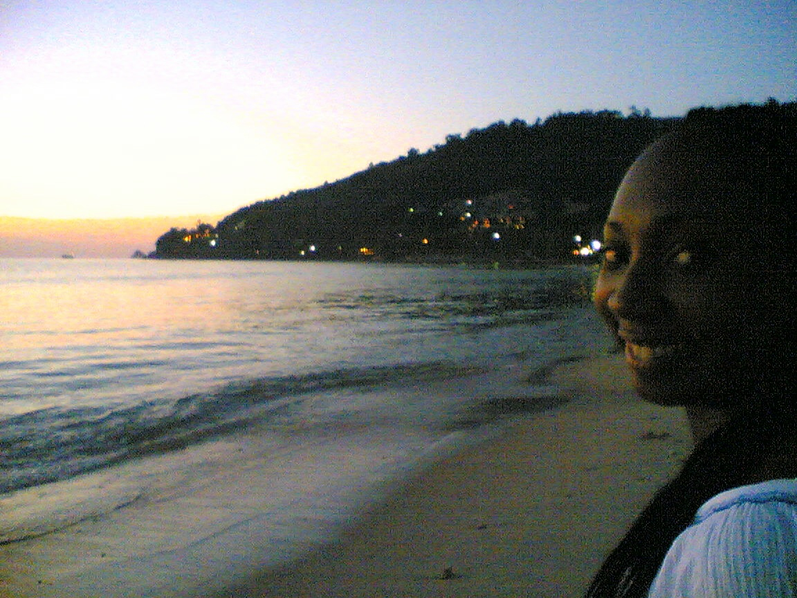 Wendy Shearer in Thailand, 2004