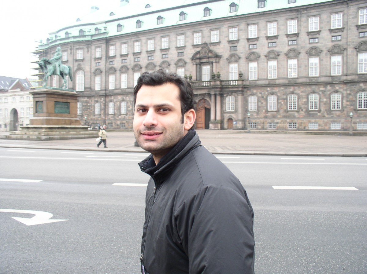 Ali Shah in Copenhagen, 2003