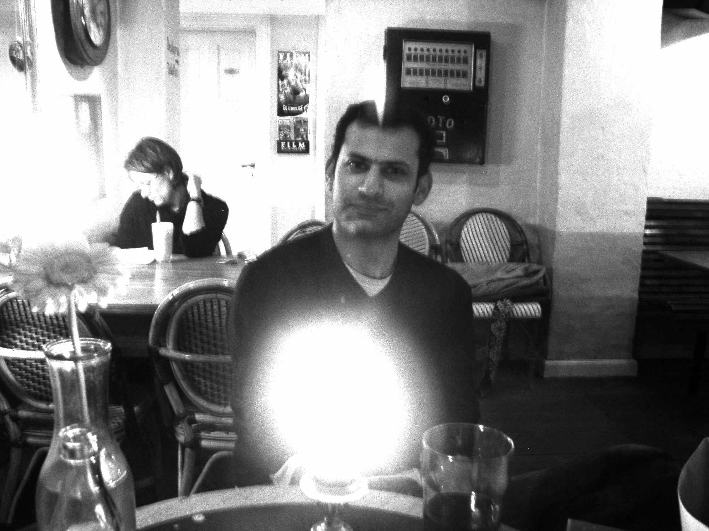 Ali Shah in Copenhagen, 2004