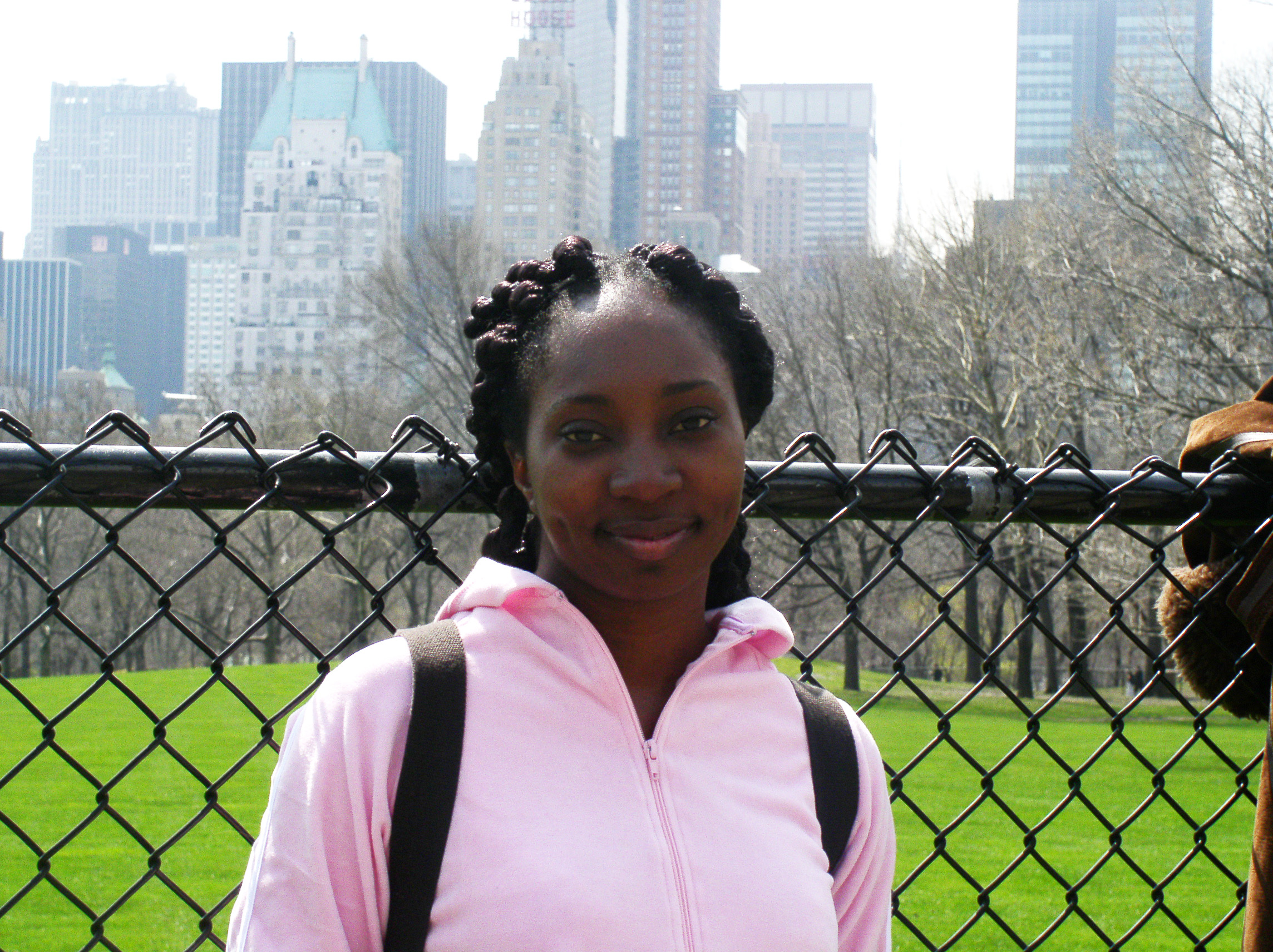 Wendy in NYC in 2004