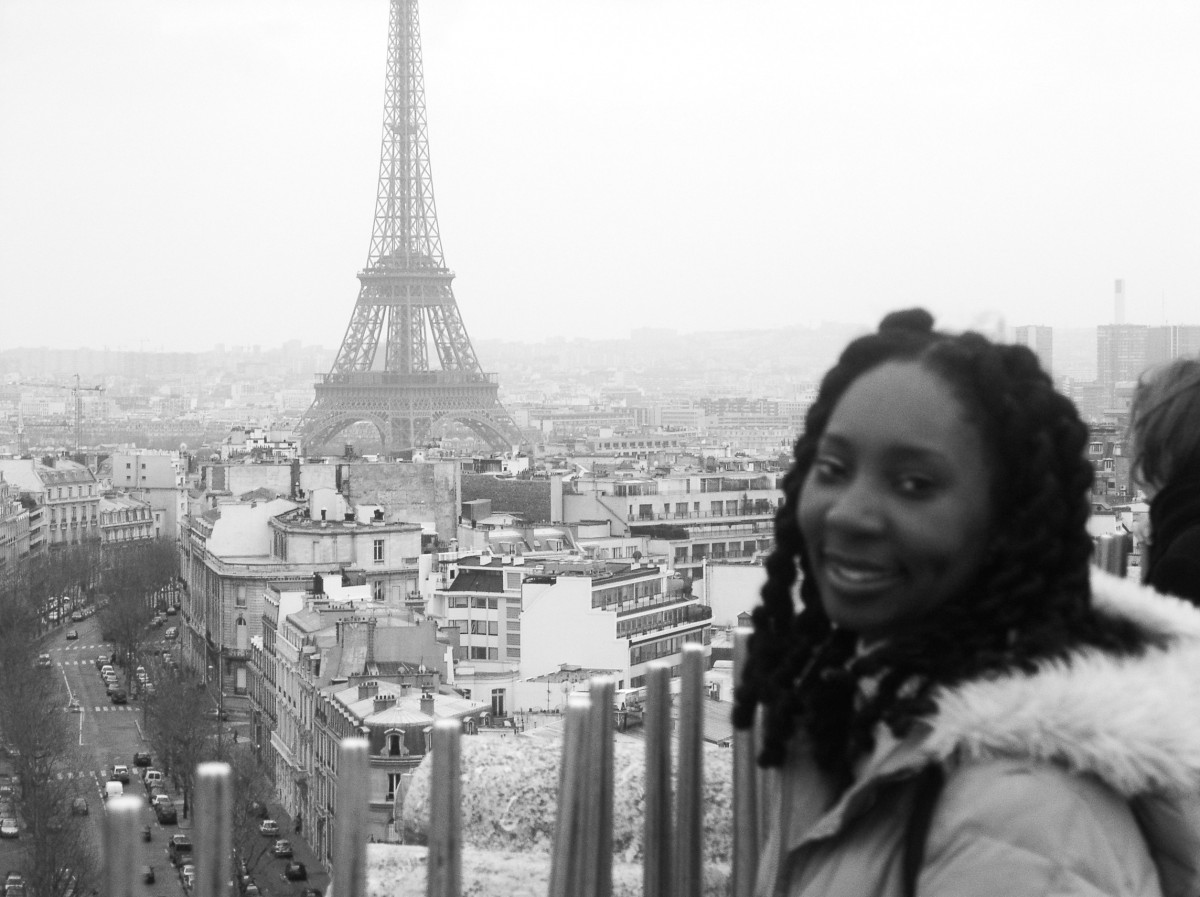 Wendy Shearer in Paris, 2004