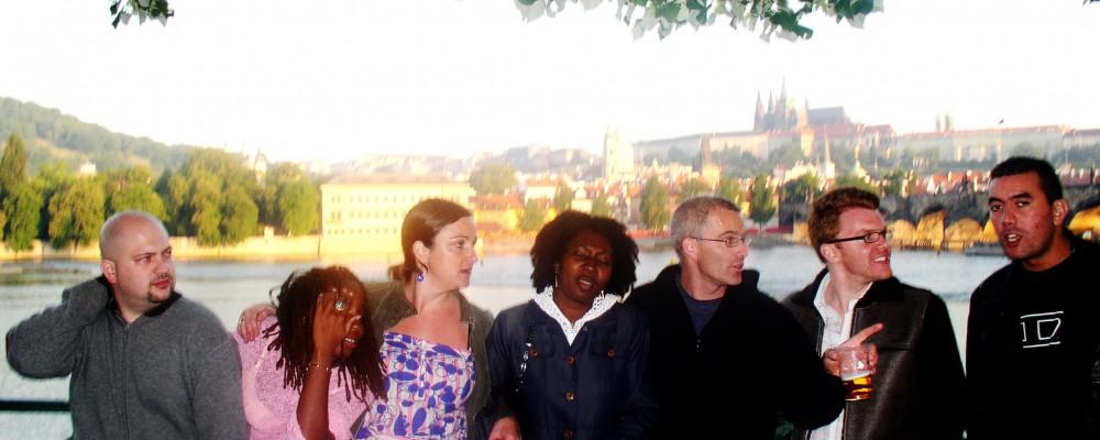 Trip to Prague with Wendy, Ed, Ian, Emma et al
