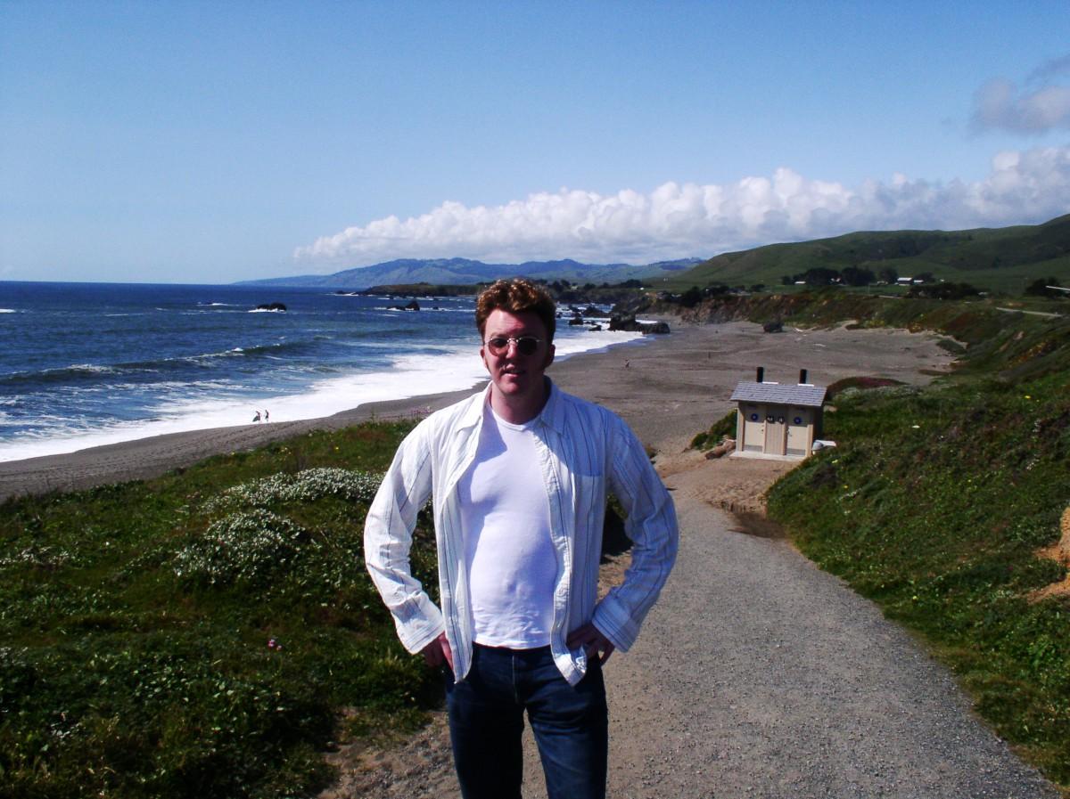 Matt in Mendocino, CA, 2004
