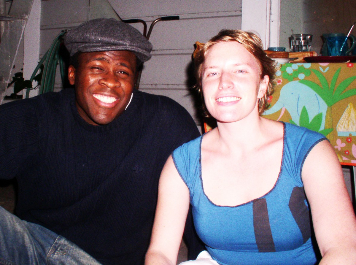 Amy and Bolaji, San Francisco 2004