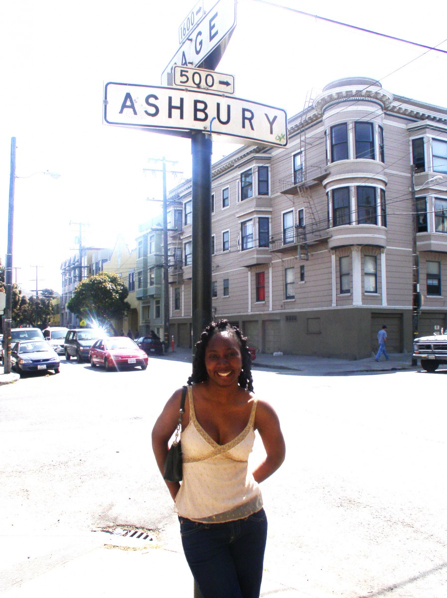 Wendy in San Francisco, 2004
