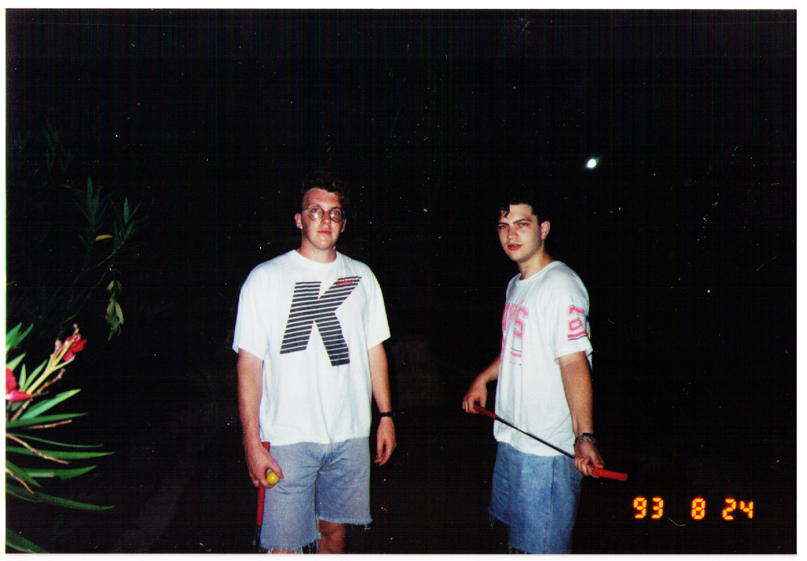 Jim & Ian - Crazy Golf in sweaty Florida